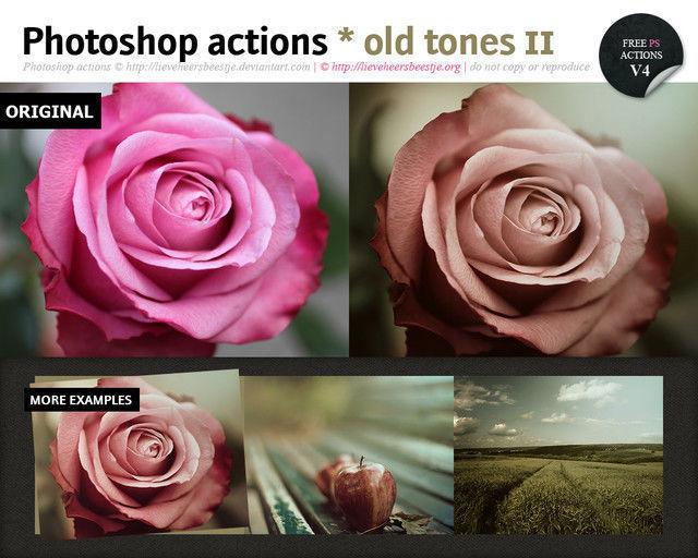 Photoshop Old Tones Actions II<br /> http://lieveheersbeestje.deviantart.com/art/Photoshop-old-tones-actions-II-313817674