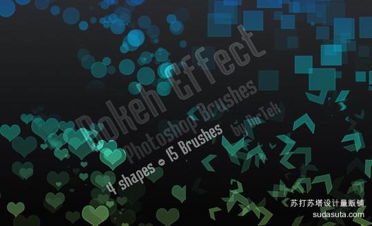 背景虚化效果笔刷<br /> http://dirtek.deviantart.com/art/Bokeh-Effect-Brushes-192948603