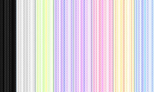 条纹:PS模式(9种)<br /> http://renainnocenti.deviantart.com/art/Epic-Stripes-PS-Pattern-192309128