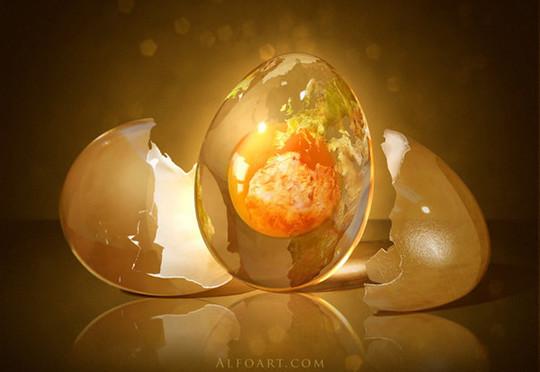 魔法鸡蛋的绘制<br /> http://www.photoshoplady.com/tutorial/fantastic-egg-creation/2830