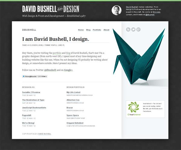 David Bushell<br /> http://dbushell.com/