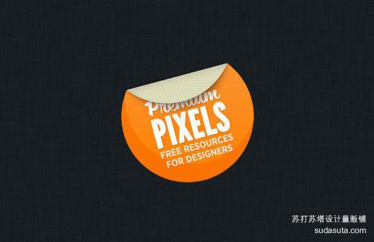 漂亮的小贴纸<br /> http://www.premiumpixels.com/freebies/pretty-little-sticker-psd/