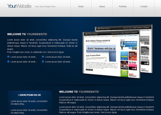 PSD to XHTML/CSS Conversion<br /> http://sixrevisions.com/tutorials/web-development-tutorials/minimal-and-modern-layout-psd-to-xhtmlcss-conversion/