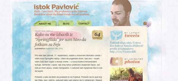 Istok Pavlovic<br /> http://www.istokpavlovic.com/blog/