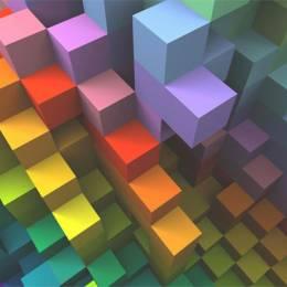 彩虹色桌面壁纸下载