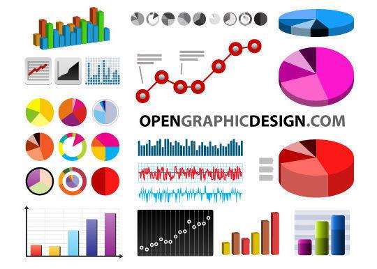 矢量格式的图表和图形<br /> http://www.opengraphicdesign.com/print/charts-and-graphs-in-vector-format/
