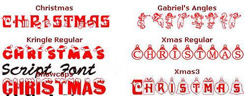 20个有吸引力的免费圣诞节字体<br /> http://blog.taragana.com/index.php/archive/20-attractive-free-fonts-for-you-this-christmas/