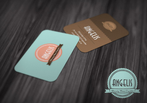 ANGELIS<br /> http://dribbble.com/shots/469764-Angelis-Business-Card