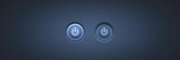 Power button<br /> http://365psd.com/day/176/
