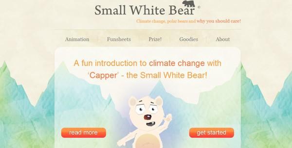 Small White Bear<br /> http://www.smallwhitebear.com/