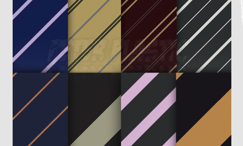 条纹图案(13模式)<br /> http://peterplastic.deviantart.com/art/Stripe-Pattern-144772303