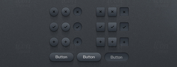 Button UI Kit<br /> http://www.icondeposit.com/design:59