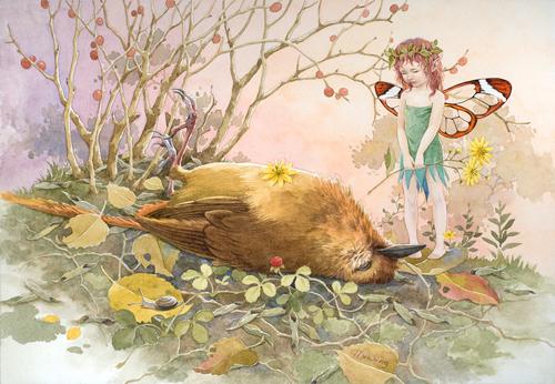 童话般的哀叹<br /> http://ilxwing.deviantart.com/art/fairy-lament-188293614