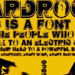 免费的脏兮兮的摇滚字体下载