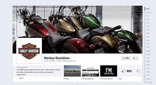 Harley Davidson<br /> http://www.facebook.com/harley-davidson