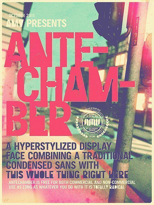 Antechamber<br /> http://www.behance.net/gallery/Antechamber-(Free-Typeface)/2380284
