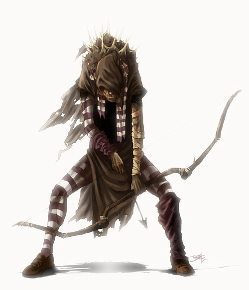 弓箭手<br /> http://joelamatguell.deviantart.com/art/archer-98276743