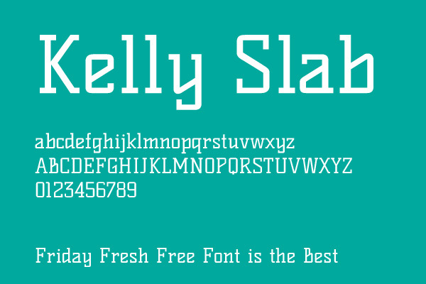 Kelly Slab<br /> http://www.fontsquirrel.com/fonts/kelly-slab