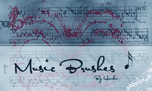 Music Brush<br /> http://henda-stock.deviantart.com/art/Music-Brush-35579437