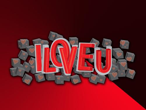 情人节3D效果字体绘制教程<br /> http://websoulz.com/learn-how-to-create-dramatic-3d-valentine-text-effect/