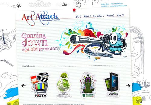 Art Attackk<br /> http://www.artattackk.com/