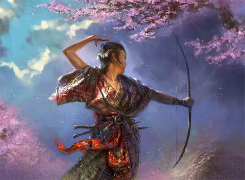 弓箭手<br /> http://agnidevi.deviantart.com/art/Fire-archer-76078475