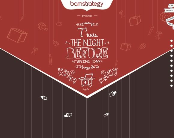 Bam Strategy<br /> http://holidaycards.bamstrategy.com/2012/
