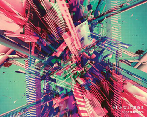 使用3D来创建丰富多彩的抽象艺术<br /> http://www.digitalartsonline.co.uk/tutorial/cinema-4d/use-3d-create-colourful-abstract-art/#1