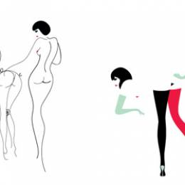 Malika Favre的性感字体设计