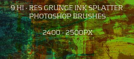270+高质量的photoshop粗糙笔刷