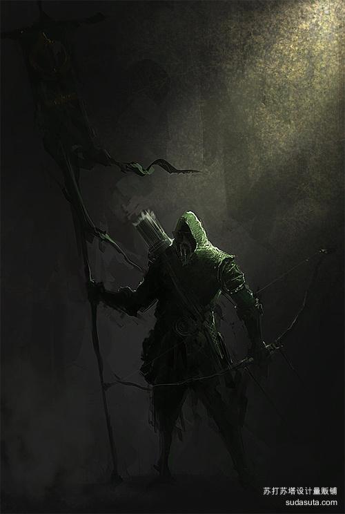 弓箭手<br /> http://aries0403.deviantart.com/art/Archer-269308635
