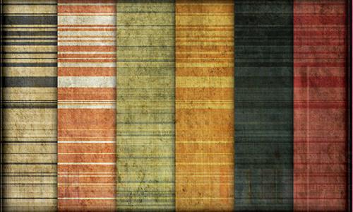 蹩脚的条纹图案(9种)<br /> http://webtreatsetc.deviantart.com/art/9-Grungy-Stripes-Patterns-127098101