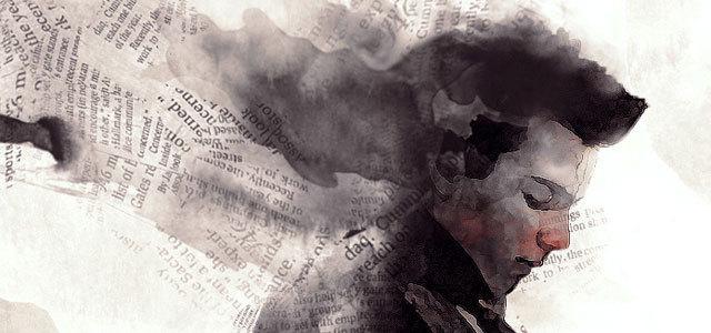 设计古典艺术品的旧报纸和水彩笔风格 http://www.psdvault.com/photo-effect/design-vintage-artwork-with-old-newspaper-and-watercolor-brush-in-photoshop/