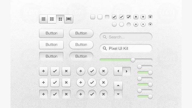 Pixel UI Kit<br /> http://www.icondeposit.com/design:60