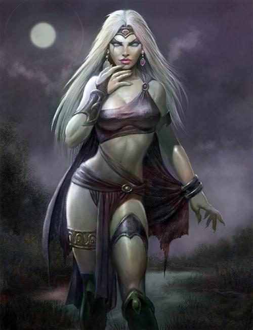 Lunar Witch<br /> http://paulabrams.deviantart.com/art/Lunar-Witch-259399317