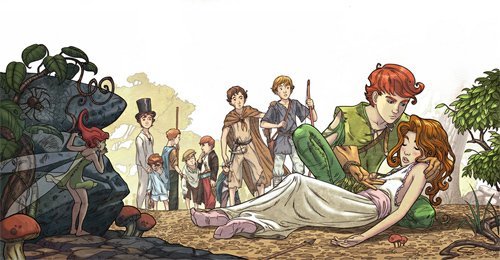 Peter Pan _ part 2<br /> http://giacobino.deviantart.com/art/Peter-Pan-part-2-110950109