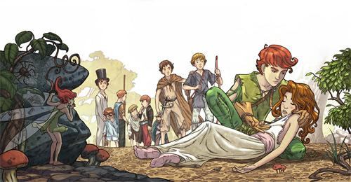 Peter Pan _ part 2<br /> http://giacobino.deviantart.com/art/Peter-Pan-part-2-110950109