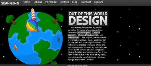 50个富有创造力的个人作品网站(1)