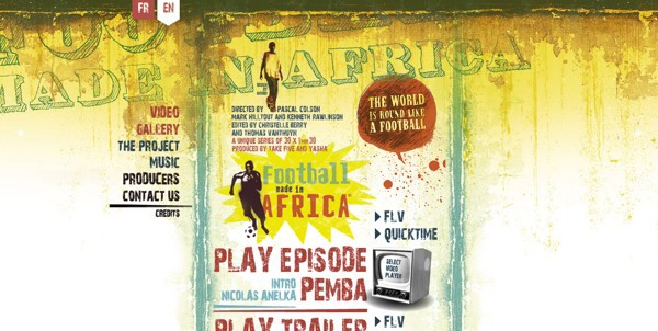 Football Made in Africa<br /> http://www.footballmadeinafrica.com/english.html