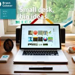 设计师在线作品集页面设计分享