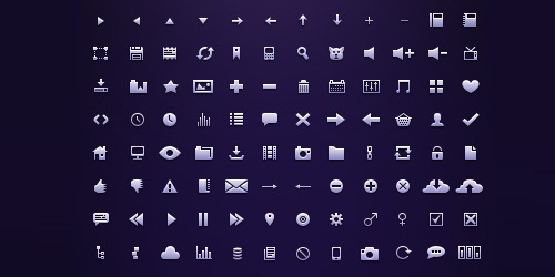 160小图标[免费PSD]<br /> http://dribbble.com/shots/294609-160-tiny-Icons-Free-PSD-