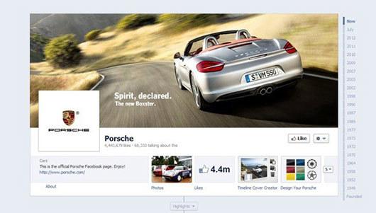Porsche<br /> http://www.facebook.com/porsche