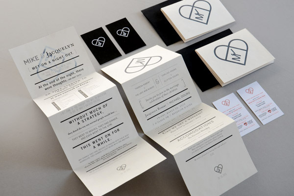 heart folding wedding invitations rsvp