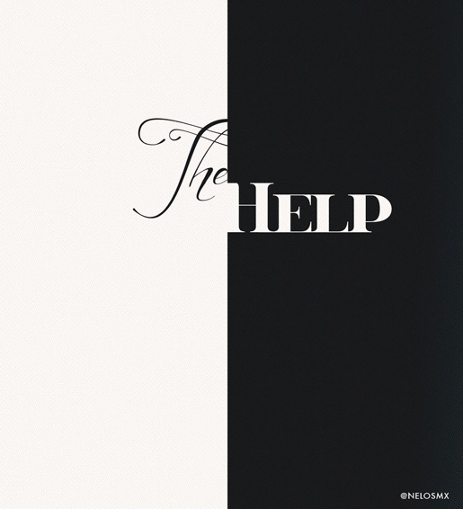 The Help by Nelos<br /> http://nelos.deviantart.com/art/Minimalist-Movie-Poster-The-Help-286667796