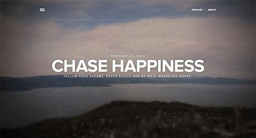 David Gamache<br /> http://davegamache.com/chase-happiness/