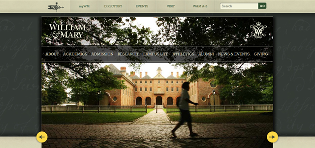 William & Mary<br /> http://www.wm.edu/