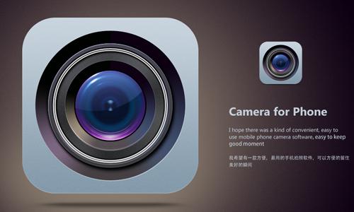 相机图标<br /> http://fengsj.deviantart.com/art/Camera-Icon-323711403