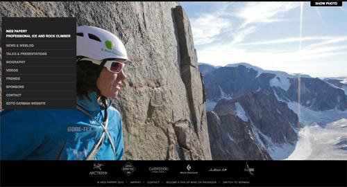 Ines Papert Professional Ice & Rock Climber<br /> http://ines-papert.de/en/home