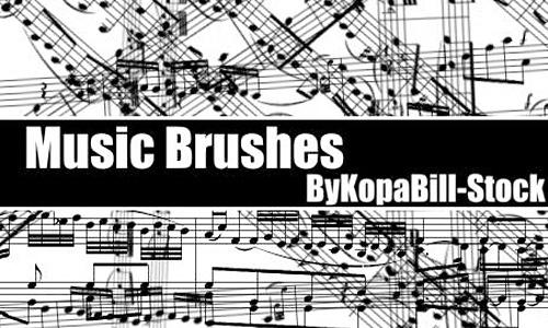 MusicBrushes<br /> http://kopabill-stock.deviantart.com/art/MusicBrushes-45504917