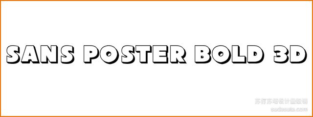 Sans Poster Bold 3D<br /><br /> http://www.1001freefonts.com/SansPosterBold3D.php